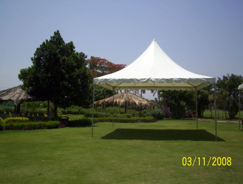 hill top tent 20 x 20 ft - whtie